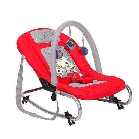YANGXY Silla mecedora para bebés, cómoda y plegable, silla ...