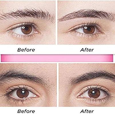 Flawless Brows - Eliminador de pelo de cejas, color oro rosa, teepao electrónico, recortador de cejas, el mejor removedor de pelo sin dolor para las mujeres con cepillo (sin batería): Amazon.es: Belleza