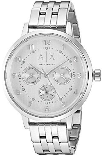 Armani Exchange Women's AX5376  Silver  Watch (Armani Exchange Ladies Watches)