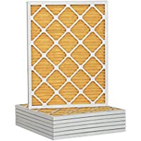 14x25x1 Ultra Allergen Merv 11 Pleated Replacement AC Furnace Air Filter (6 Pack)