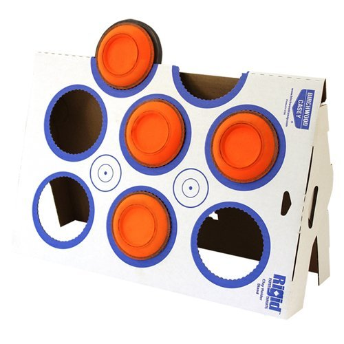 Birchwood Casey Rigid Clay Target Stand Corrugated Cardboard Kit 37602 (Targets Clay Shooting)