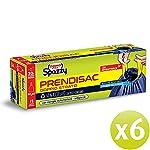 Domopak-Spazzy-Bolsas-de-basura-Prendisac-con-asas-autobloqueantes-para-el-hogar-30-l-azul-y-negro-6-paquetes-de-15-unidades