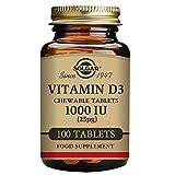 Vitamin D 3 1000 IU Solgar 100 Chewable For Sale