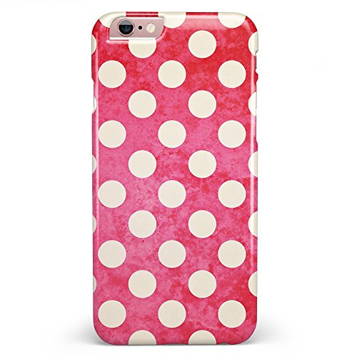 Antique Red and White Polkadot Pattern iPhone 6 or 6s - 4.7