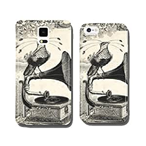 The bird music cell phone cover case Samsung S5