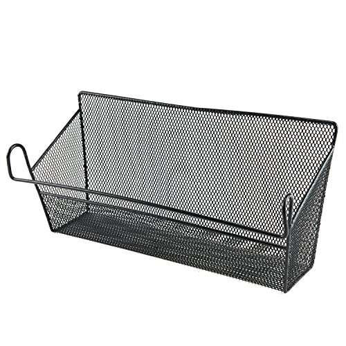 Wire Basket Shelving (Metal Basket Mail Organizer Letter Holder Hanging Baskets)