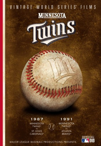 MLB Vintage World Series Films - Minnesota Twins 1987 & 1991 by A&E