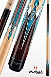 Valhalla by Viking VA891 Pool Cue Stick European Stain High Res Turquoise Points18, 18.5, 19, 19.5, 20, 20.5, 21 oz. (20)