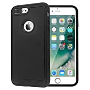 iPhone 7 Plus Case, Farsic [Resilient Strength] Flexible Durability, Durable Anti-Slip, TPU Defensive Case for Apple iPhone 7 Plus - Black