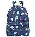Preschool Backpack for Kids Boys Toddler Backpack Kindergarten School Bookbags (Cute Rocket Robot)