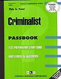 Criminalist, Jack Rudman, 0837335116