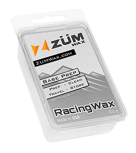 ZUMWax Ski/Snowboard Wax - Base Prep/Clean/Travel/Store - 100 gram - Excellent Storage & Travel Wax - Exellent Summer Storage Wax by ZUMWax