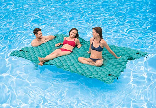 "Intex Giant Inflatable Floating Mat, 114"" X 84"""