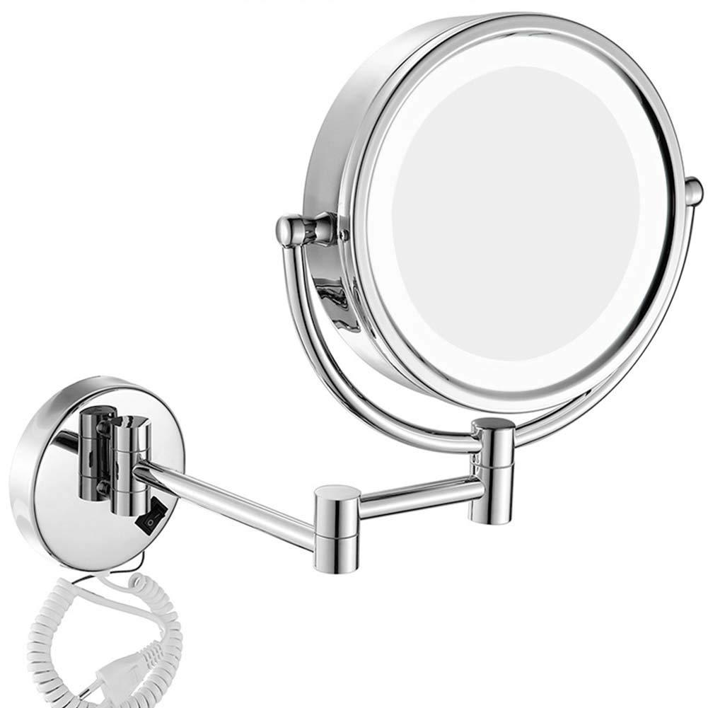 Extension Mural Salle de Bain Miroir maquillage cosmétique rasage Miroir Grossissant