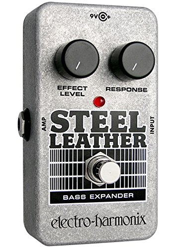 Electro-Harmonix Steel Leather Bass Expander by Electro-Harmonix