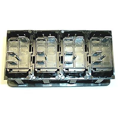 Fastronix Lighted (4) Rocker Switch Panel Auto/Marine (Multi Color): Automotive