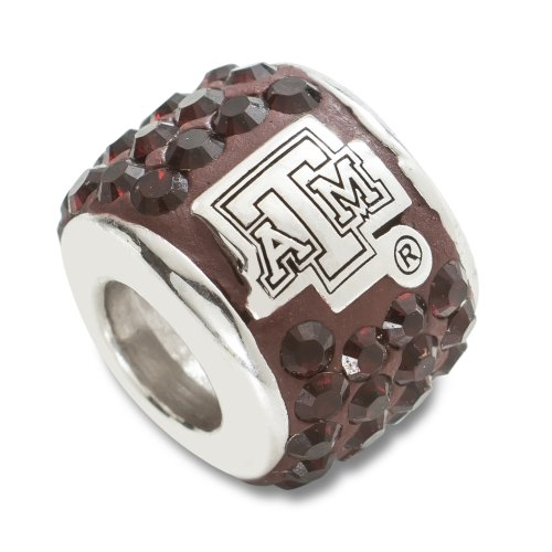 M Aggies 1 Charm - NCAA Texas A&M Aggies Premier Bead