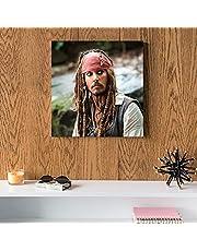 Johnny Depp MDF Wall Art 30x30 Centimeter