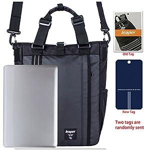 Leaper Multifunctional Backpack Laptop Shoulder School Business Travel Daypack (Black)