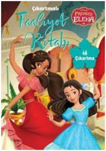 Disney Prenses Elena Cikartmali Faaliyet Kitabi Collective