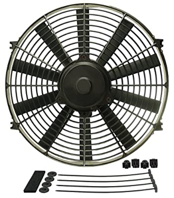 "Derale 16914 14"" Dyno-Cool High Performance Electric Fan"