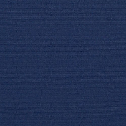 (Sunbrella 60in Solid Standard Marine Blue Fabric By The)