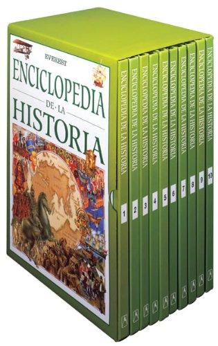 Enciclopedia de la Historia (10 Tomos) por Evans Charlotte,Cruz Herce Alfredo
