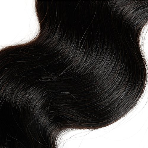 Fabeauty Peruvian Body Wave Human Hair 3 Bundles With