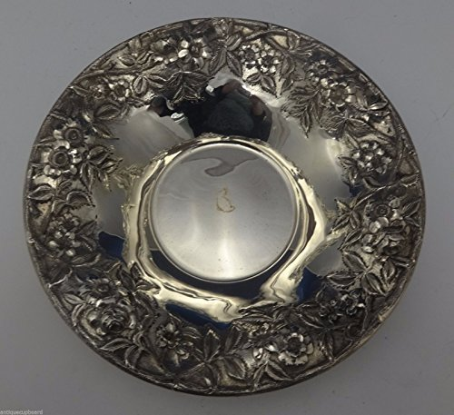 Repousse by Kirk Sterling Silver Bowl Large 10