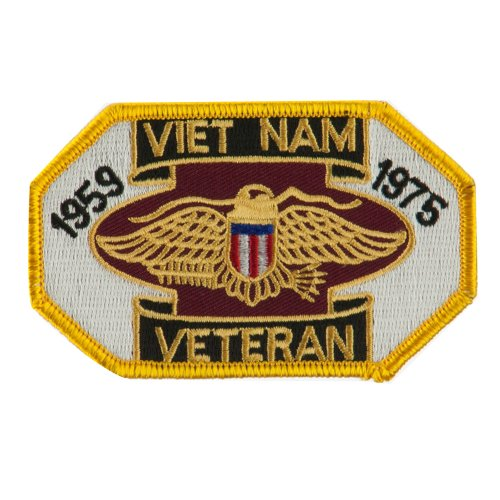 Veteran Embroidered Military Patch - Viet Vet OSFM - Military Vet Patch