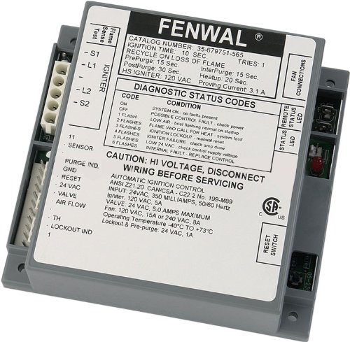 Pentair 471492 Ignition Module Replacement MiniMax Low Nox Commercial Pool and Spa Heater (Pentair Minimax Module)