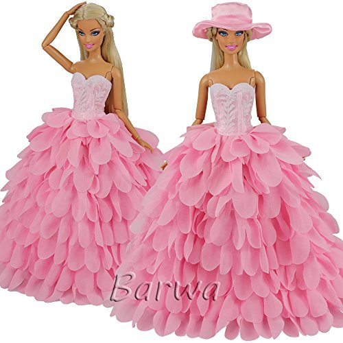 Barwa Princess Evening Party Clothes Wears Dress Outfit Set