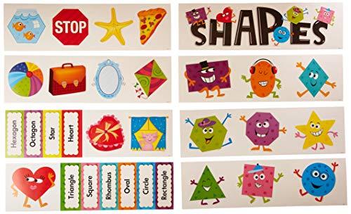 Set Board Bulletin Shapes (Creative Teaching Press Shapes Mini Bulletin Board Set (6962))