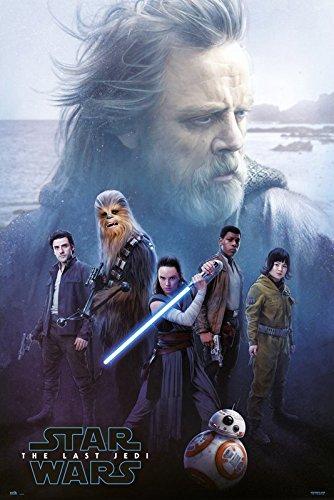 Star Wars: Episode VIII - The Last Jedi - Movie Poster / Print Luke