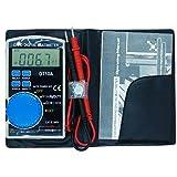 Volmate Palm Size Ultra-portable Auto Ranging Auto-off Digital Multimeter Voltmeter Ammeter Ohmmeter, Resistance, AC/DC Current Voltage Meter Tester
