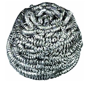 - 84 Scotch-Brite Stainless Steel Scrubber, 1.75oz (Case of 12)