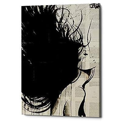 "Epic Graffiti""The New Minstrel"" by Loui Jover, Giclee Canvas Wall Art, 12""x18"""