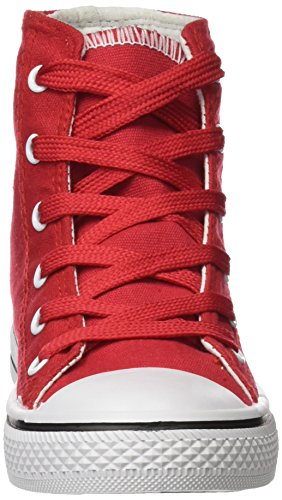 Red 44 rosso Taglia Alta West Nero Scarpe Kripton wq0ZUHU