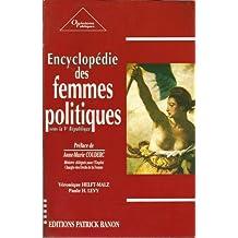 Encyclopédie des femmes politiques, sous la Ve République