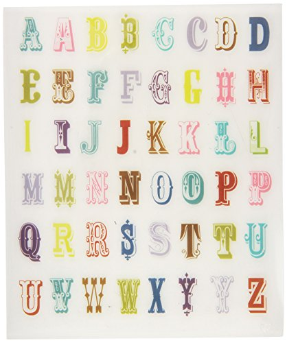 K&Company EK Success Alphabet Rub-On w/Gems