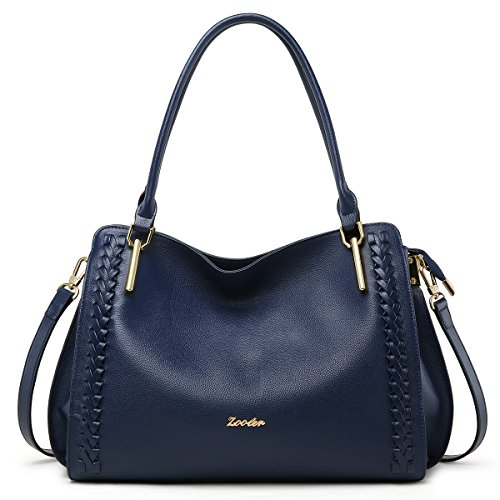 ZOOLER Tote for �� Shoulder and Bags Satchel Women Lady's Blue Handbags Purses Leather rgP6HwWqrv