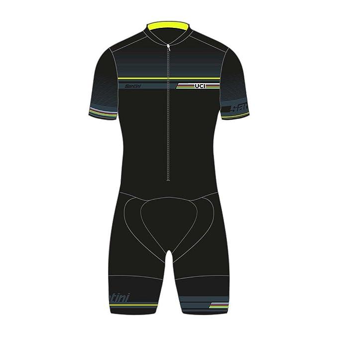Santini Replica UCI iRide mtong Hombres línea Velocidad Traje de ...