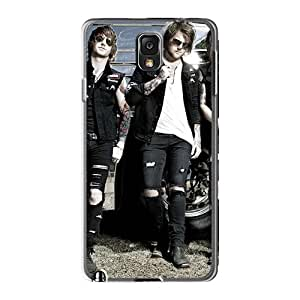 JonBradica Samsung Galaxy Note3 Bumper Hard Phone Covers Customized HD Asking Alexandria Band Pattern [sKZ20340Eunc]