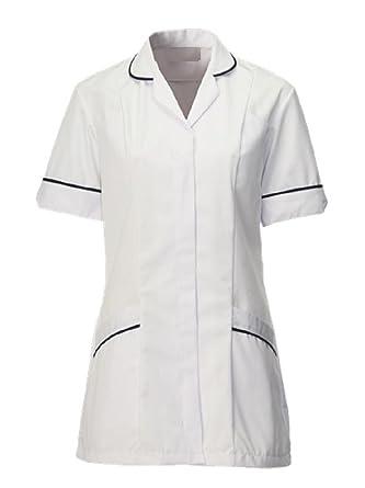 Vets Simon Jersey Light Blue Navy Trim Ladies Dress Nurse Uniforms Care