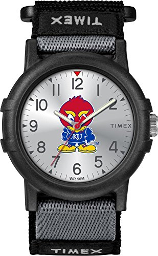 Kansas Jayhawks Watch - Timex Kansas Jayhawks KU Youth FastWrap Recruit Watch