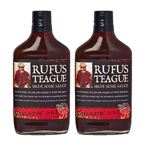 Rufus Teague's Award Winning BBQ Sauces - OU Kosher - Blazin