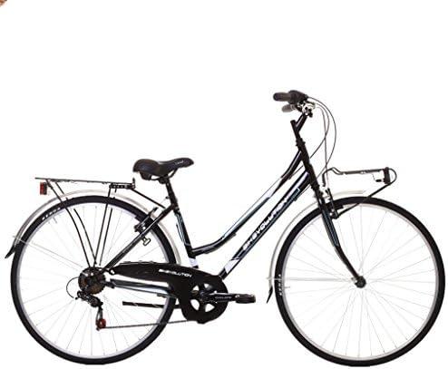 Bikevolution - Bicicleta urbana para mujer, ruedas de 28 pulgadas, 6 velocidades, mujer, 44: Amazon.es: Deportes y aire libre