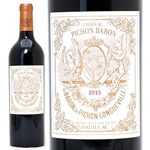 2015 シャトー ピション ロングヴィル バロン 750mlポイヤック第2級 赤ワイン コク辛口 ワイン ((ABPI0115))  B07MTZQLVC