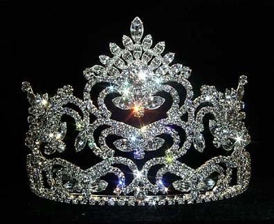 Large Pageant Prize Tiara #8704 (Pageant Prize Tiara)