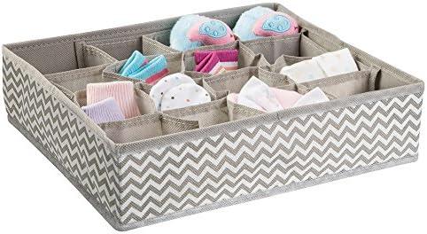mDesign Organizador para bebe – Cajones organizadores para cosas ...